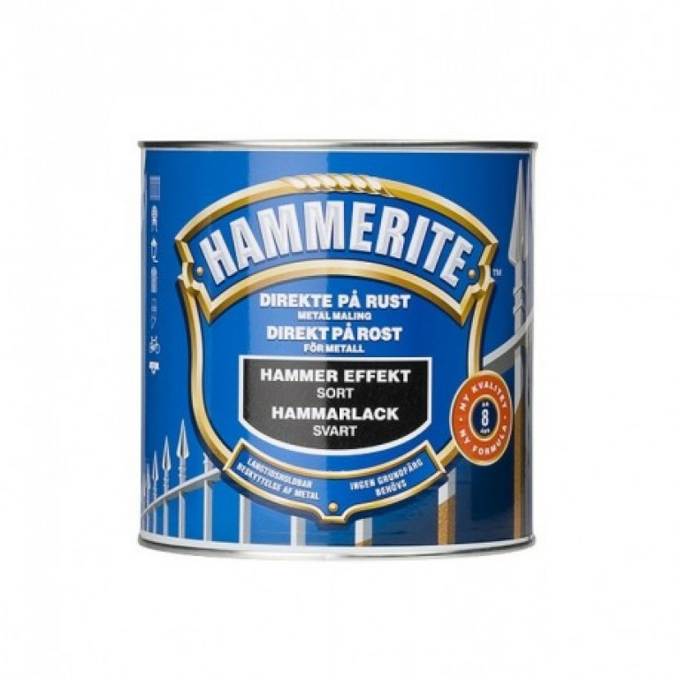 Hammerite Metalmaling 250 ml.